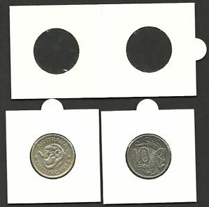 Bulk Pack of 100 Holders COIN HOLDERS 2 x 2 Staple Type 39mm CROWN Size