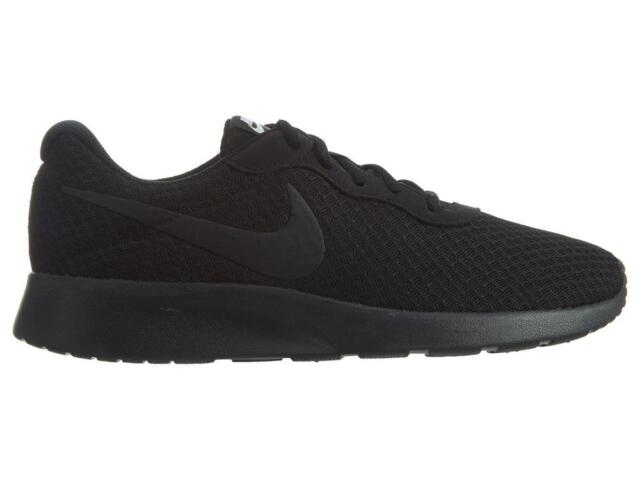 Nike Tanjun Lightweight Running Shoes Women s Size 10 Black for sale ... 810cd2ebd