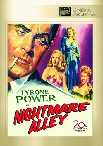 Nightmare Alley (1947 Tyrone Power) DVD NEW