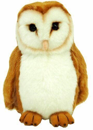 Wildlife animal Barn Owl plush S size   eBay