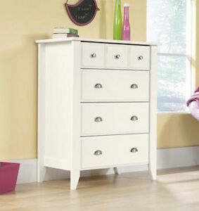 white wood dresser drawer modern bedroom furniture storage 18537 | s l300