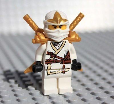 LEGO Ninjago Zane ZX w// Armor njo031 Minifigure