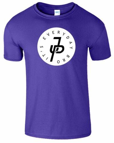 Jpaulers JP Homme T-shirt il est chaque jour Bro Inspiré youtuber Haut Femme Tshirt