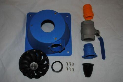 Mounting Base-Water Box Turgo Wheel Nozzle Valve for Micro Hydro Motenergy