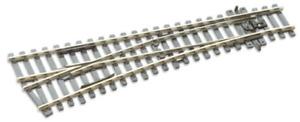 Peco SLE92 HO/OO Code 100 Left Hand Small Radius Turnout Electrofrog New