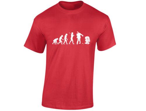 12 couleurs Zombie T-Shirt Homme évolution drôle