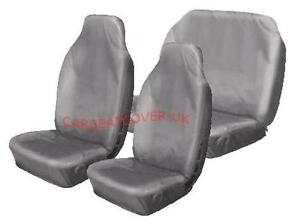 Image Is Loading Nissan Navara Heavy Duty Grey Waterproof Car Seat