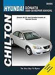 Chilton Books 32205 Repair Manual fits 99-14 Hyundai Sonata
