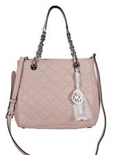 465a77771d item 4 MICHAEL KORS BLOSSOM Silv Susannah Quilted Leather North South Tote  HANDBAG New -MICHAEL KORS BLOSSOM Silv Susannah Quilted Leather North South  Tote ...