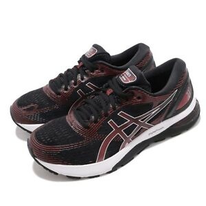 Asics-Gel-Nimbus-21-Black-Classic-Red-Men-Running-Shoes-Sneakers-1011A169-002