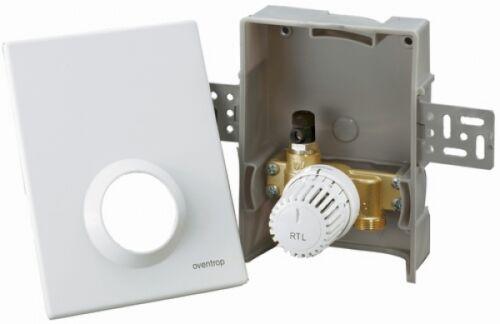 weiss Oventrop Rücklauftemperaturbegrenzer  RTL Unibox 1022635