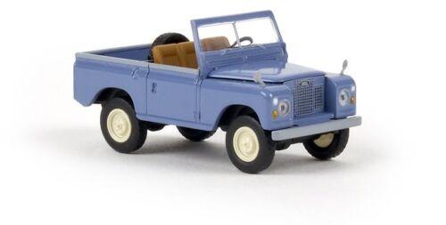 Brekina 13851 - 1/87 Land Rover 88 convertible-taubenblau-nuevo