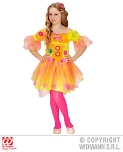 Image is loading Girls-Kids-Childs-Neon-Candy-Girl-Fancy-Dress-  sc 1 st  eBay & Girls Kids Childs Neon Candy Girl Fancy Dress Costume Fairy Tale ...