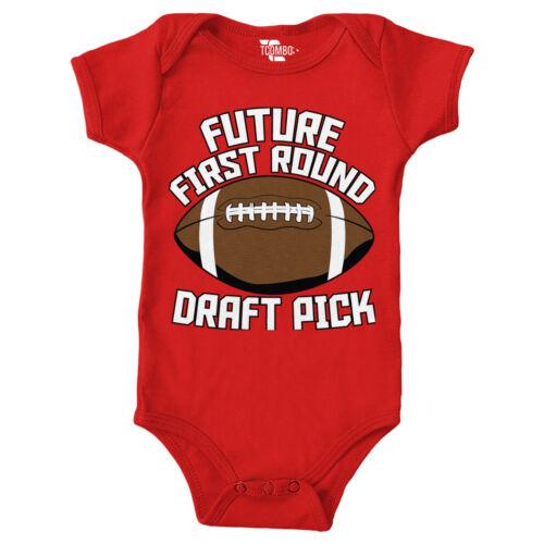 Future First Round Draft Pick Football Bodysuit