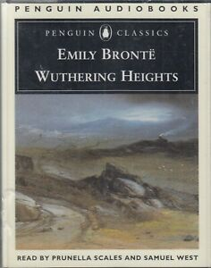 Wuthering-Heights-Emily-Bronte-4-Cassette-Audio-Book-NEW-Prunella-Scales