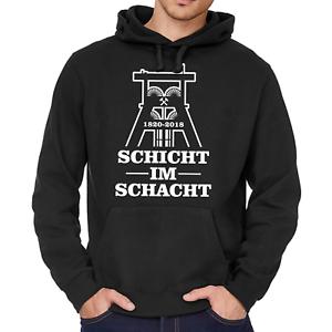 Schicht-im-Schacht-Zeche-Bergbau-Kumpel-Foerderturm-NRW-Kapuzenpullover-Hoodie