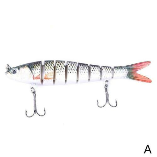 Multi-section fish Multi-segment fake bait 13.7cm long-range sea bass Luya bait