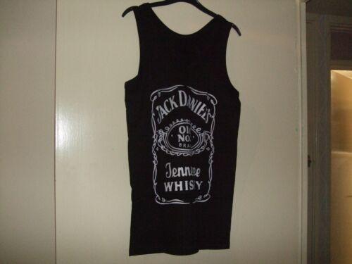 Brand New /& Sealed dans emballage Jack Daniels Noir Débardeur Taille M