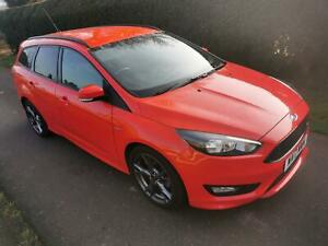 Ford Focus 1.0T 125ps EcoBoost s/s 2017 ST-Line 14000 miles Full S/History
