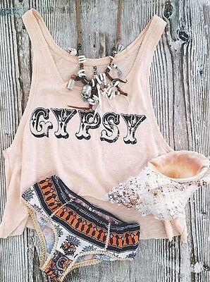 Fashion Women Summer Loose Casual Sleeveless Vest Shirt Tops Blouse Tank Tee