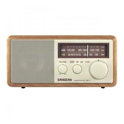 sanwr11 Sangean San-wr11 Wood Table Top Radio