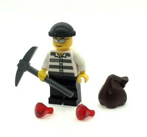 Lego Sack lego criminal minifig with jewels axe and sack ebay