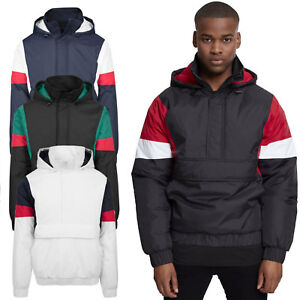Urban Classics Padded Pull Over winter jacket olive | WeAre Shop