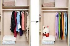 Business Suit Dust Cover Garment Dress Storage Bag (Orange)