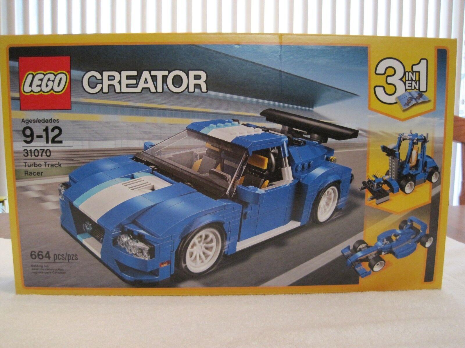 Lego 31070 Creator Turbo Track Racer 3 en 1 --- -- Nuevo Sellado De Fábrica