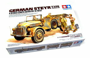 Tamiya-Military-Model-1-35-German-STEYR-Type-1500A-01-Scale-Hobby-35305