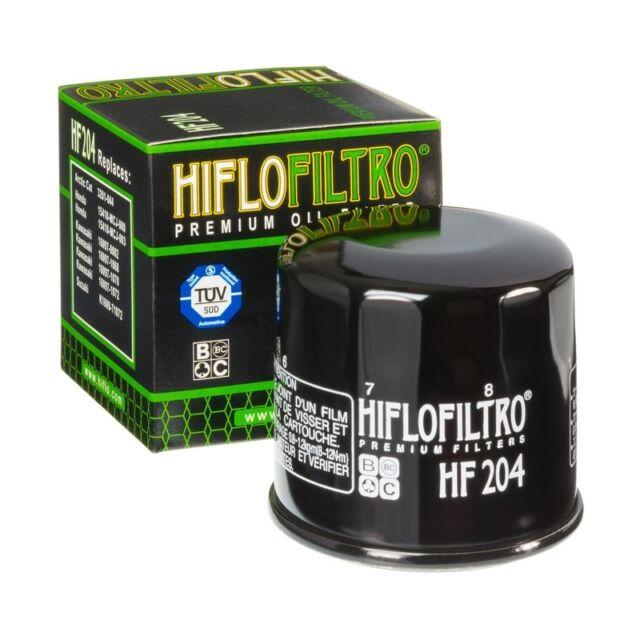 Hiflo Filtro Ölfilter HF204, Honda VFR 800 F, 2002-2017, Oil Filter Schwarz RC46