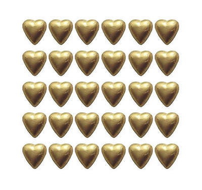 300 GOLD FOIL MILK CHOCOLATE HEARTS - CUSTOM ORDER FOR ROSE