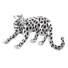 Silverton African Jaguar Leopard Big Cat Animal Brooch Pin Fashion Jewelry  p810
