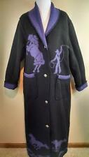 WOODED RIVER Purple/Black Reversible Long Cowgirl Horse Western Coat Jacket MD