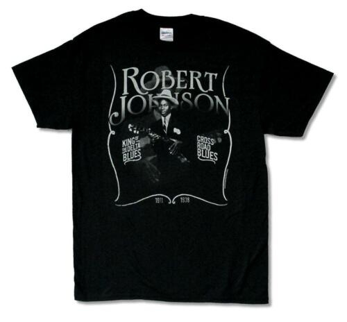 Music Tee CONCORD JAZZ Robert Johnson 1911-1938  KING OF THE DELTA ROAD BLUES