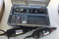 Dremel Lot Of 2 With Case accessories