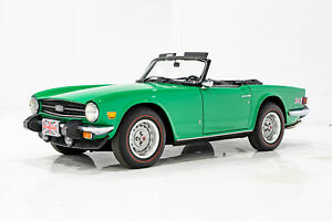 1976 Triumph TR6 Beautifully Presented From Older Restoration