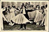 MAXI und ERNST BAIER Eis-Ballet Echtfoto-AK ungelaufen Musik Tanz Tanzen ~1960