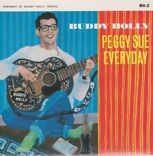 Buddy Holly & Crickets Peggy Sue / Everyday UK 45 W/PS 1984 Reissue Limited Ed