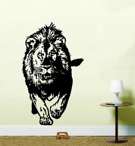 Image Is Loading Lion Wall Art Kitchen Bedroom Kids Sticker WA17