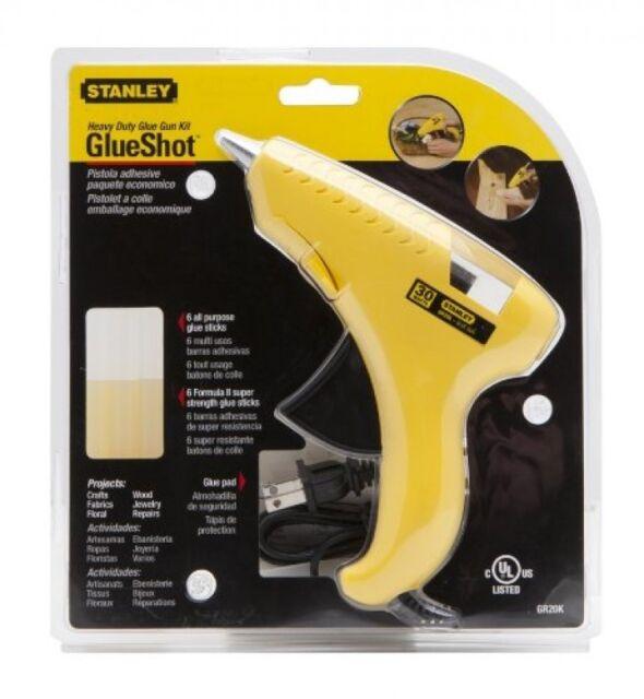 Stanley Trigger Feed Hot Melt Glue Gun Kit, GR20K, New, Free Shipping