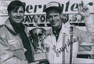 Bobby-Unser-SIGNED-IROC-Driver-CHAMPION-12x8-Photo-AFTAL-COA-Autograph