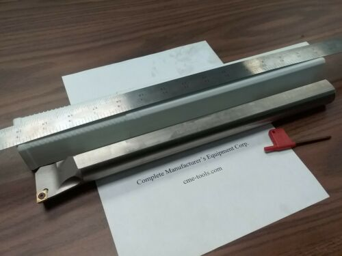 "1-1//4/"" Indexable Boring Bar,1-1//4/""x14/"" OAL w CCMT Insert,1004-IDX-114-New"