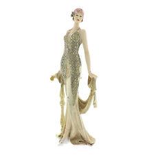 Juliana Art Deco Broadway Belles Cream /Gold Lady Figurine / Ornament.58431