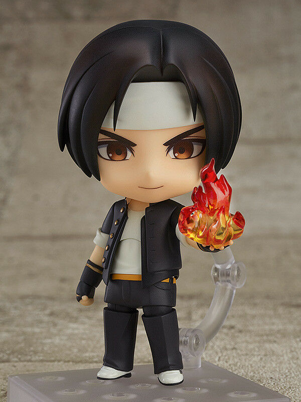 Nendoroid - THE re OF FIGHTERS - Kyo Kusanagi - GOOD SMILE cifra - nuovo