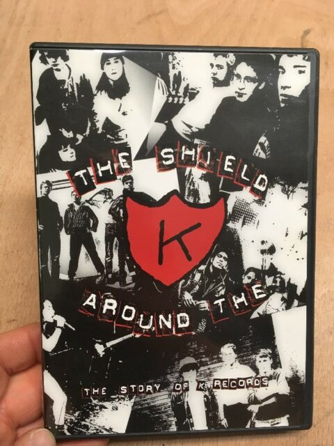 The Shield Around The K:The Story Of K Records(UK DVD)DIY Punk Rock Record Label
