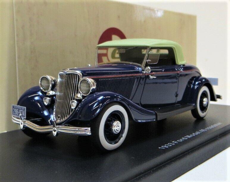 Esval Modelos 1933 Ford modelo 40 Cerrado converdeible, azul. Ltd  250. a ESTRENAR.