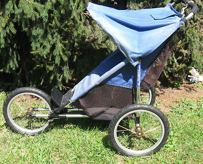 Vtg The Baby Jogger Ii Reconditioned For Single Child Athletic