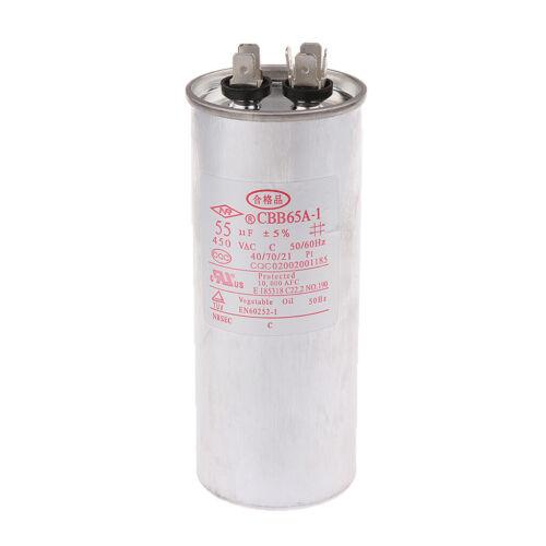 450V Motor Start Motor Run Capacitor for Fan Sinlge-phase Motor Micro Motor