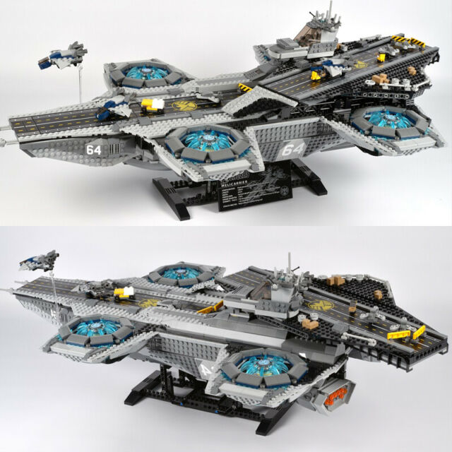 Avengers The SHIELD Helicarrier Marvel Compatible With ...